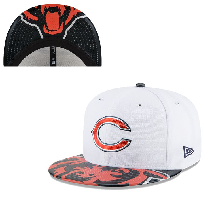 Chicago Bears 2017 NFL Draft On-Stage Fitted Hat by New Era #Chicago #Bears #ChicagoBears