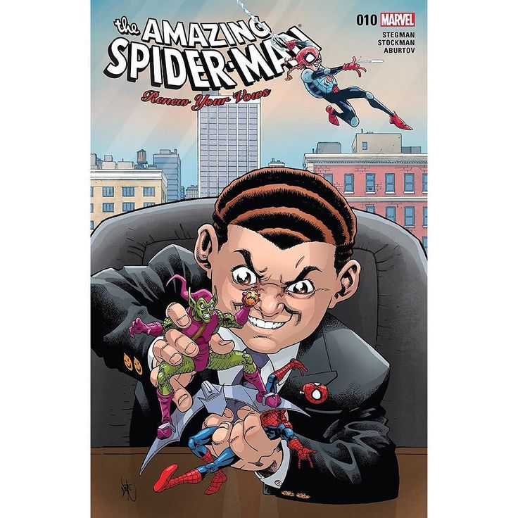 Amazing Spider-Man: Renew Your Vows (2016-) #10 Written by Ryan Stegman Art by Nate Stockman Cover by Nate Stockman A spotlight on Norman Osborn II! How did 10-year-old Normie achieve the smarts and cunning of his grandfather? Will he inherit the Goblin family legacyand will he take it to terrifying new heights?