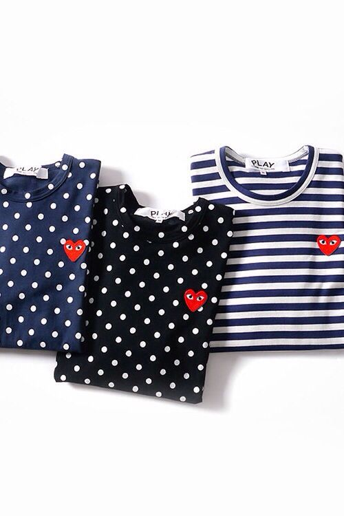 Commes des garcons play springsummer collection 2014