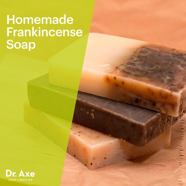 Homemade Frankincense Soap Bar - DrAxe.com
