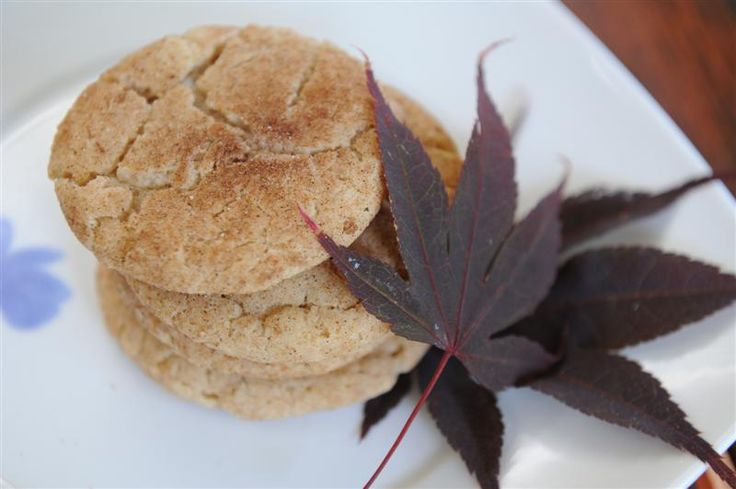 Maple Snickerdoodles | Baking Recipes To Try (treats) | Pinterest