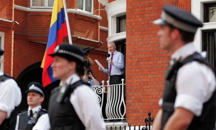 """We need a political intervention to make this situation with Julian Assange end. """"For the British, serving Washington is a higher calling than the honour of their country."""" This is now how the public in Britain and the wider world view British justice in modern day Britain."""