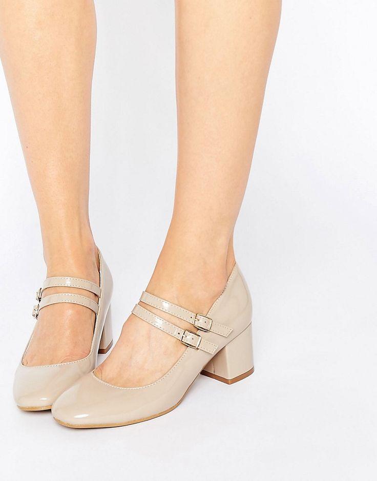 Immagine 1 di Glamorous - Scarpe Mary Jane con tacco medio e doppio cinturino