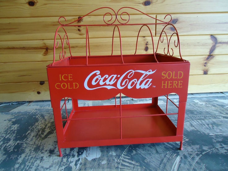 Unique Coca-Cola Display Rack