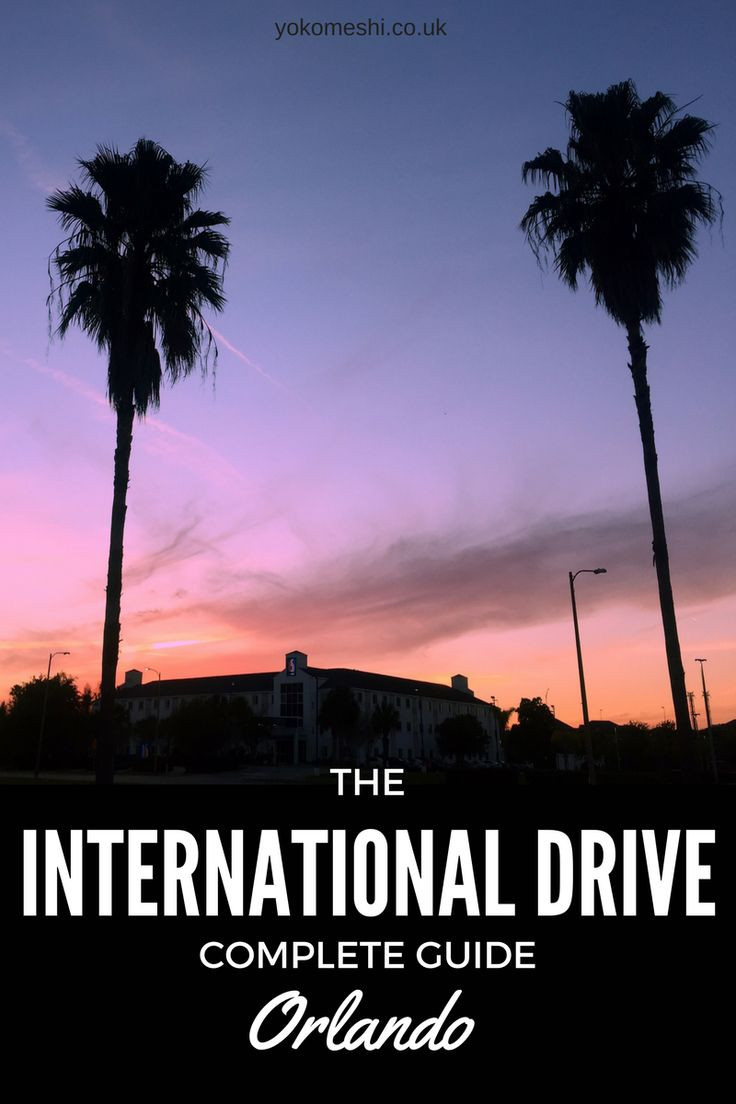 Where to Eat, Stay and Play on International Drive, Orlando   The complete guide to International Drive, in Orlando, Florida.  Everything to do outside of Disney World and Universal Studios