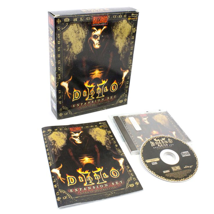 Diablo II Lord of Destruction for PC by Blizzard Entertainment, Big Box, 2001