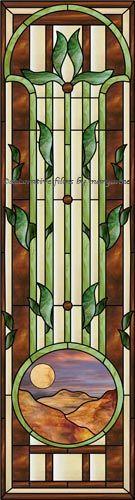 Traditional Sidelight Decorative Window Film