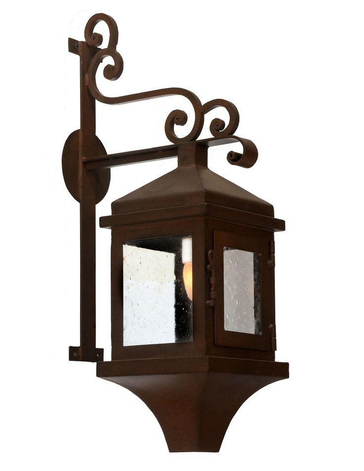 Hacienda exterior lantern small