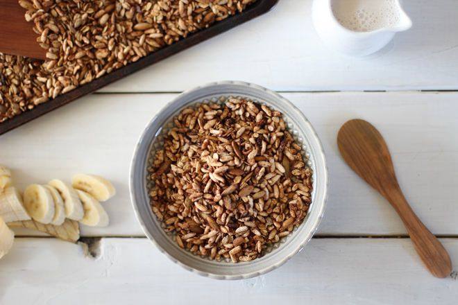 Cinnamon Puffed Rice Cereal // nutritionstripped.com
