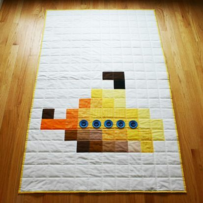 http://english-rose.org.uk/shop/pixel-yellow-submarine-quilt/