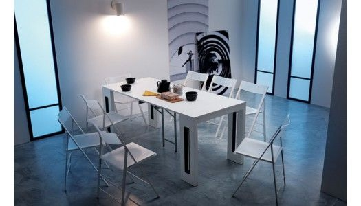 25 best ideas about console extensible on pinterest - Table console extensible 12 personnes ...
