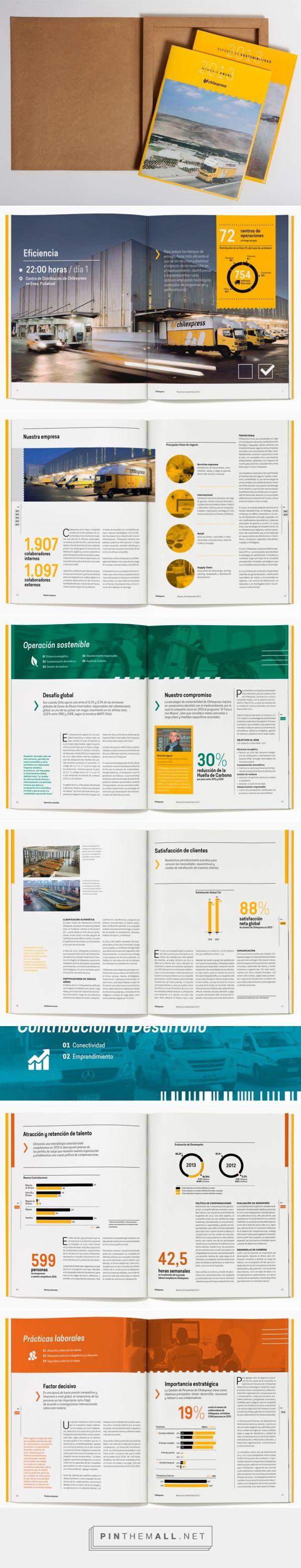 Chilexpress Memoria y RS 2013 | Patricio Arellano — Diseño Gráfico - created via http://pinthemall.net