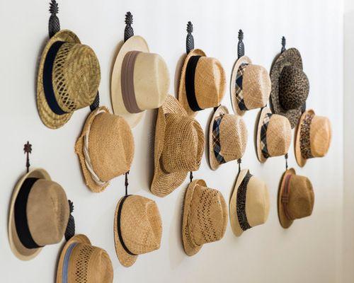 M s de 25 ideas incre bles sobre colgar sombreros en for Perchas para colgar botas
