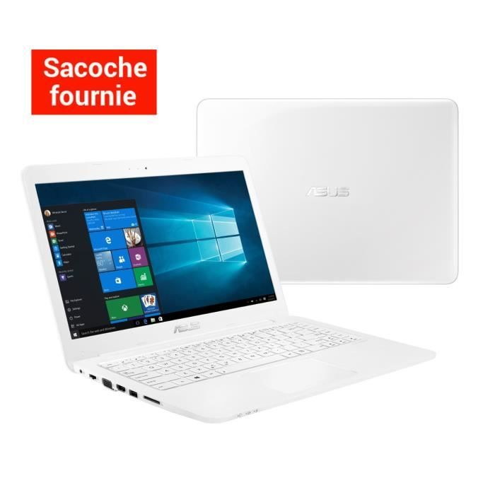 "299.99 € ❤ Eco #Informatique - #ASUS #PC #Portable L402SA-WX071T blanc 14"" - 2 Go de RAM - Intel Celeron N3050 - Intel HD Graphics - Disque Dur 500 Go   Sacoche ➡ https://ad.zanox.com/ppc/?28290640C84663587"