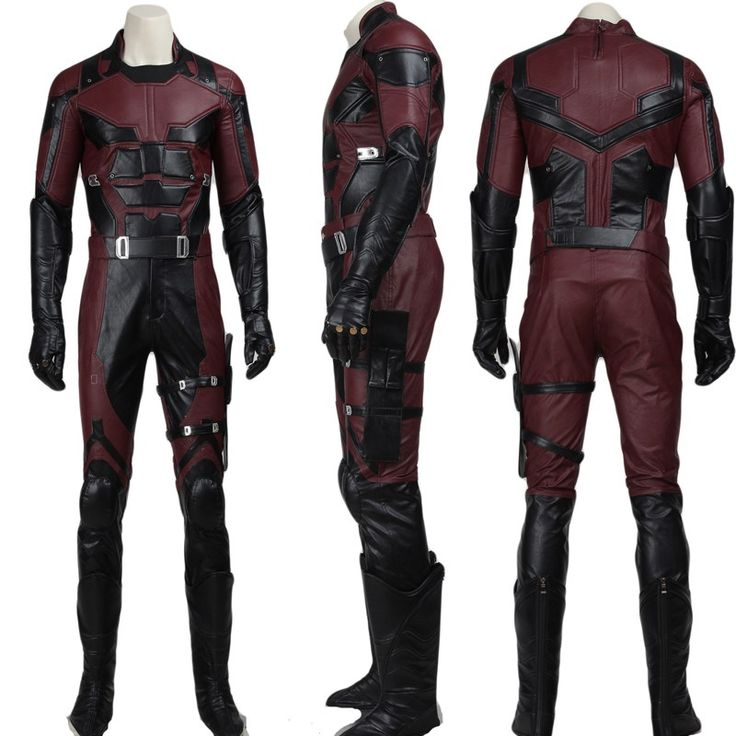 Movie Daredevil Cosplay Men Costume