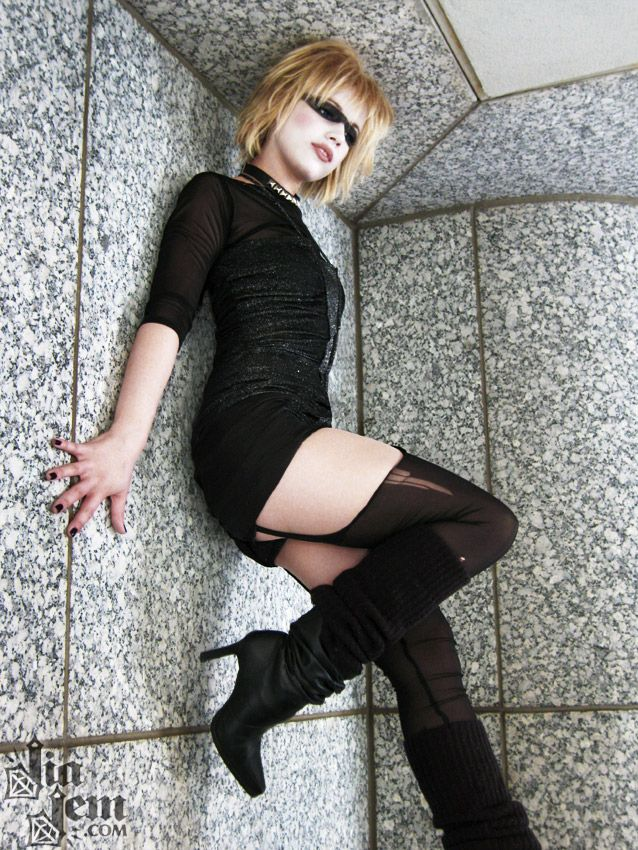 Pris from Blade Runner.                                                                                                                                                                                 More