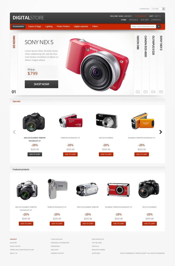 As Magento is very powerful eCommerce engine, your online efforts will grow every day. www.titantemplates.com