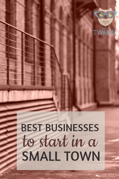 Great business ideas for those living in a small town and with a limited budget