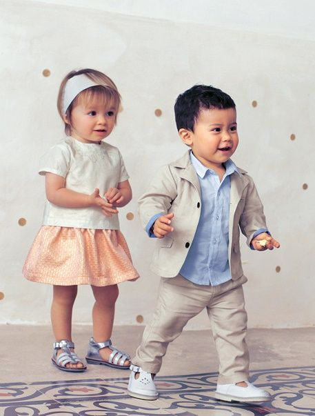 Baby Girls Embroidered Blouse + Dress + Headband Outfit Set - Light salmon - 4