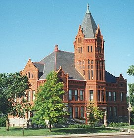 the old courthouse in marysville kansas i was born in this town my