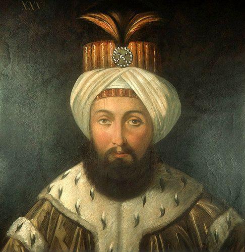 Sultan Osman III, 1754-1757, portrait in the Topkapi Palace Museum, Istanbul, Turkey