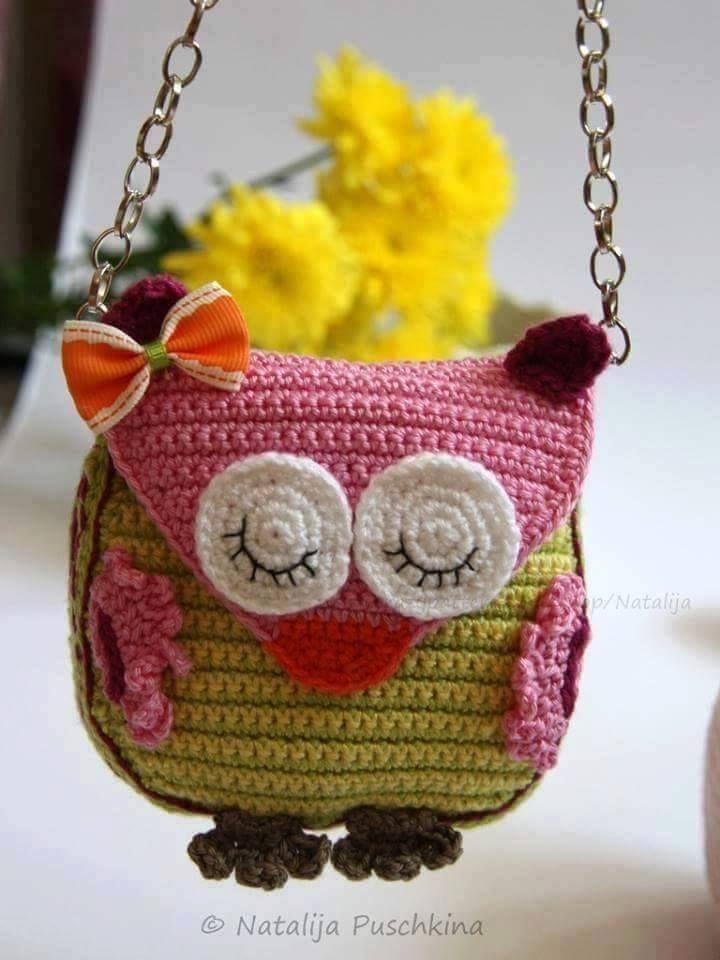 nice Handmade Kids Bags Knitting
