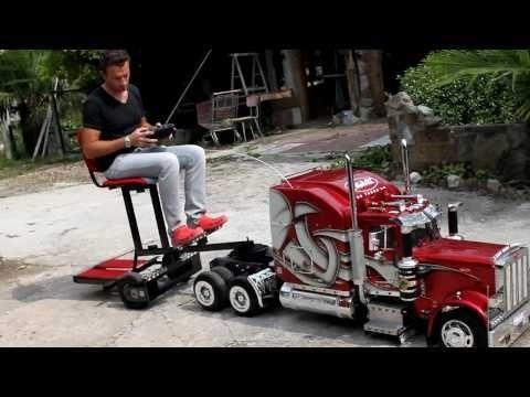custom rc cars | Custom built RC Semi Truck. Awesome... | Cars And Stuff I Like