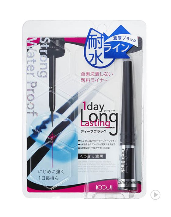 Linequeen OneDay Longlasting Eyeliner Deep Black                      라인퀸 원데이 롱래스팅 아이라이너 딥블랙