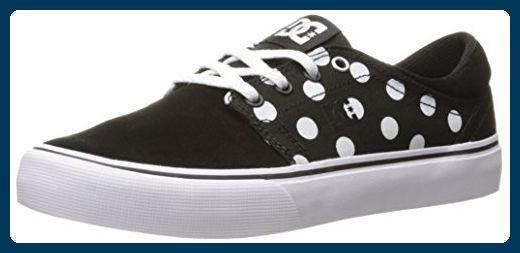 DC Frauen Trase SE Skate-Schuhe, EUR: 40, Black/White Print - Sneakers für frauen (*Partner-Link)