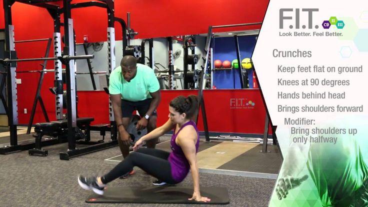 F.I.T. Exercises - Crunches  http://myforeverfit.flp.com