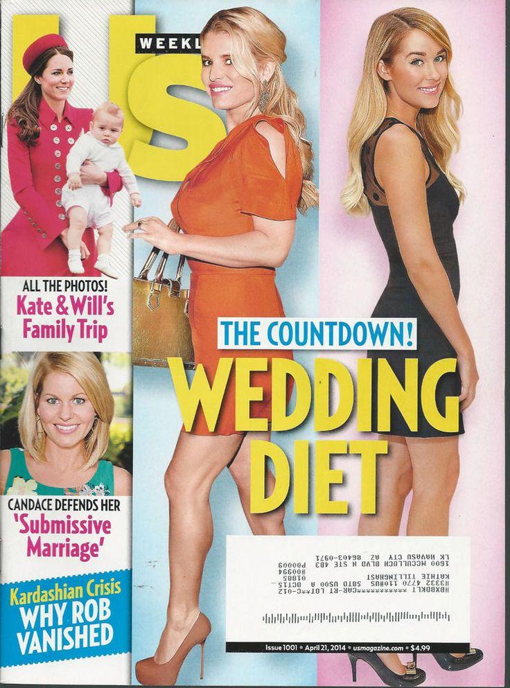 Jessica Simpson Duchess Kate Prince George US Magazine April 21, 2014