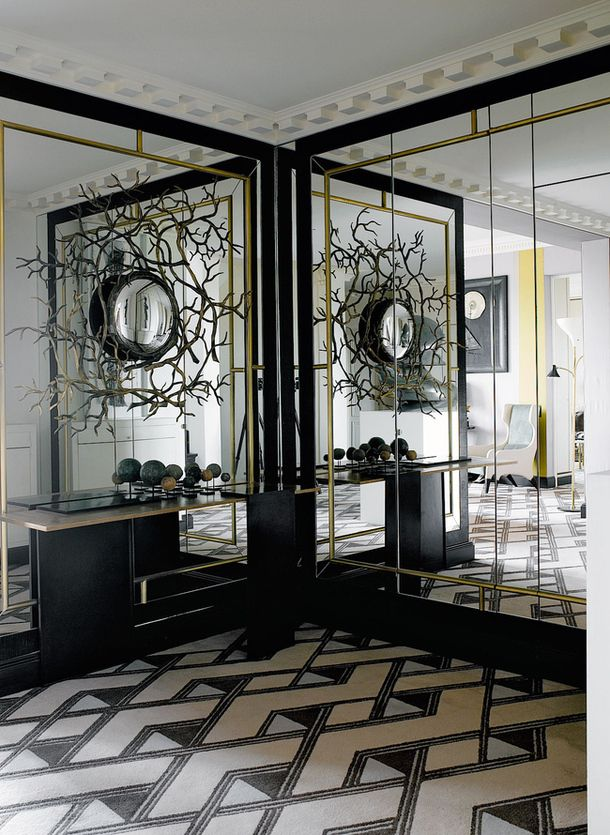 25 Best Ideas About Mirror Walls On Pinterest
