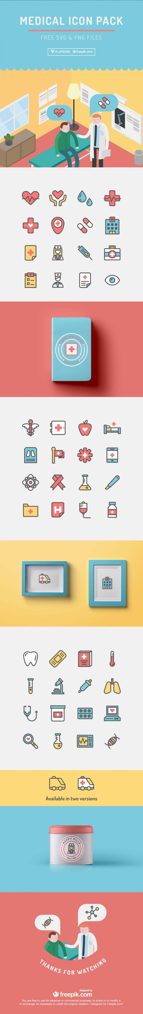 Hospitals could be scary particularly with all these graphic photographs of individuals affected by all types of illnesses. As an alternative of scaring off your sufferers why not check out these pleasant medical icons from Freepik.com? These are solely out there on Crazyleaf Design all we ask is an easy attribution.  These icons are greatest utilized by dentists docs and even hospital posters to make well being appointments extra inviting. Information can be found in SVG and PNG. Download…