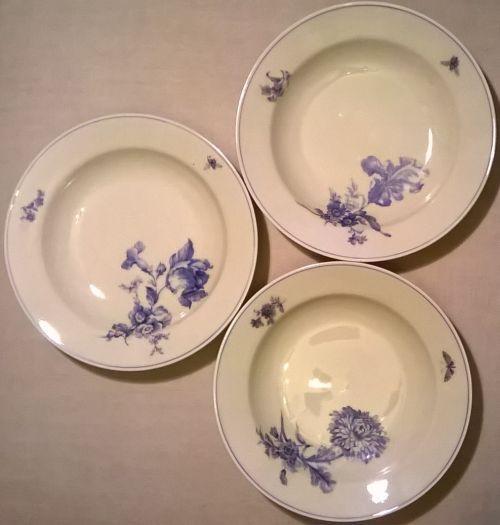 Giesche Silesian porcelain plates