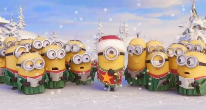 Η ΔΙΑΔΡΟΜΗ ®: Minions Singing Jingle Bell