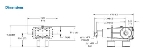 New high pressure pump from CAT Pumps – 6810 Plunger Pump. Cat Pumps model 6810 is designed and manufactured to address the challenges of high pressure systems.  Read more on our blog about this at http://taginator.com/wordpress/2013/11/21/new-high-pressure-pump-cat-pumps-6810-plunger-pump/