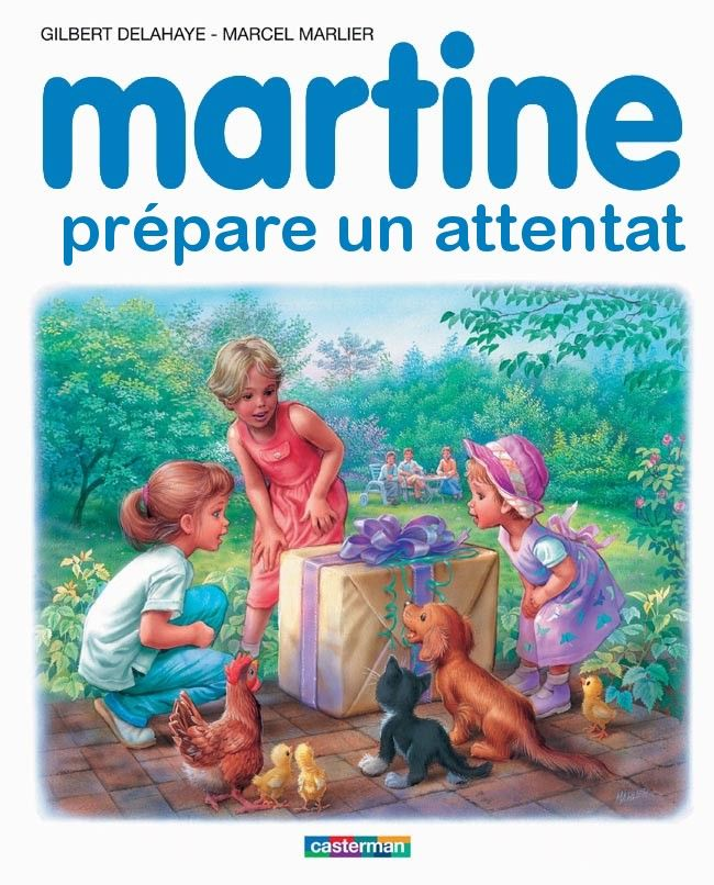 Martine prépare un attentat