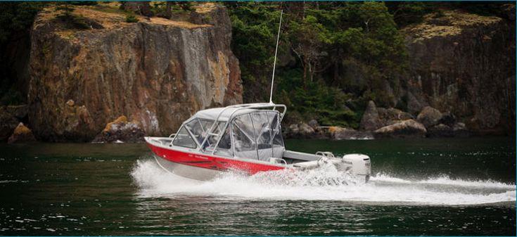 New 2012 Hewescraft 200 Sea Runner Multi-Species Fishing Boat