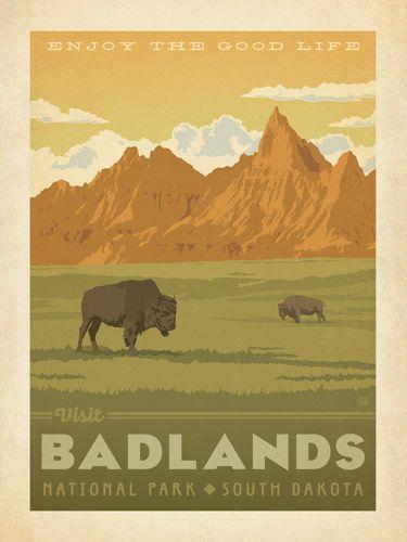 Badlands National Park - Anderson Design Group has created an award-winning…