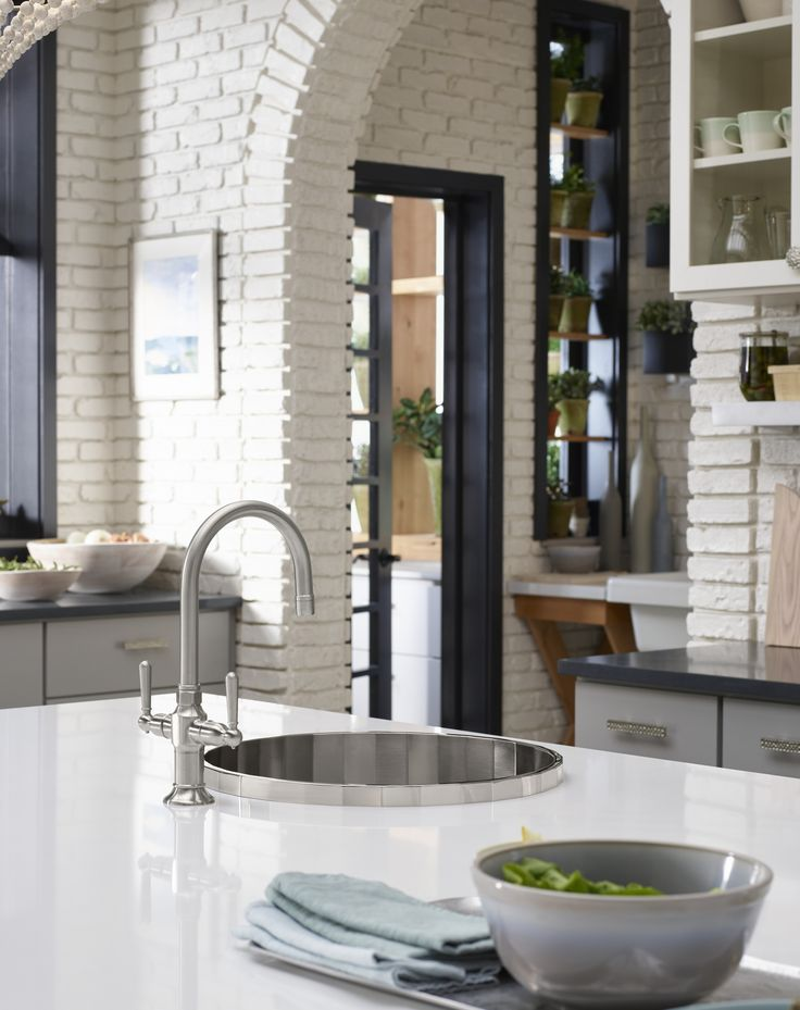 silestone iconic white countertop cloud cover hirise bar sink faucet brinx bar sink soft whites come together in the form of creamy quartz countertops and