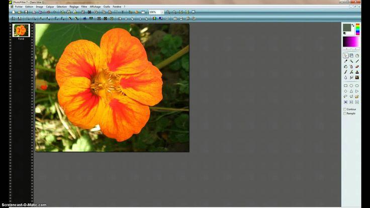 Photofiltre superposer deux images