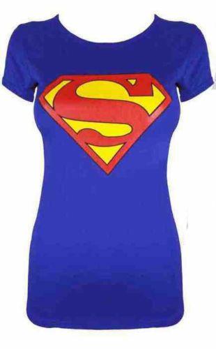 e81f35f2 NEW WOMENS LADIES COMIC HERO 3 SKULL PRINTED CREW NECK T-SHIRT VEST UK SIZE  8-26#HERO#SKULL#PRINTED
