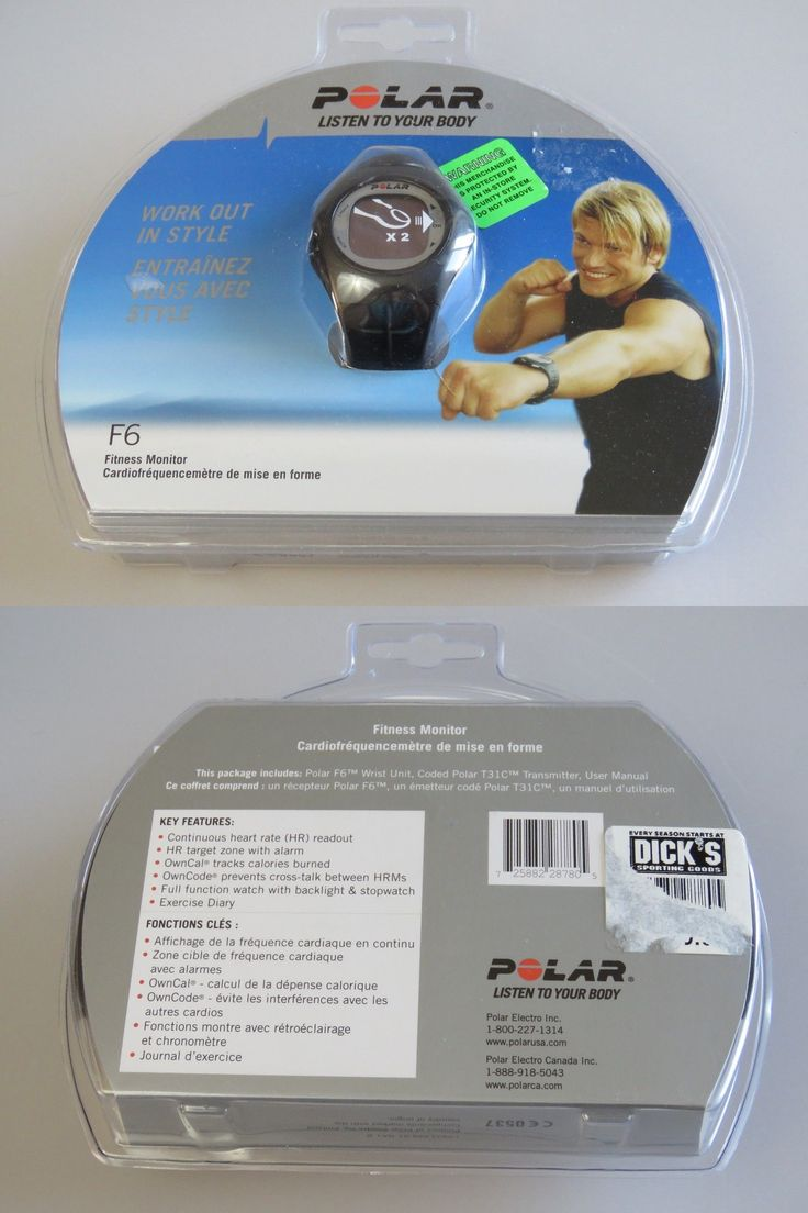 Heart Rate Monitors 15277: Polar Fitness Monitor F6 New In Package -> BUY IT NOW ONLY: $36.99 on eBay!