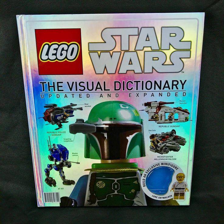 Lego Star Wars Visual Dictionary Book hardback no minifigure great condition