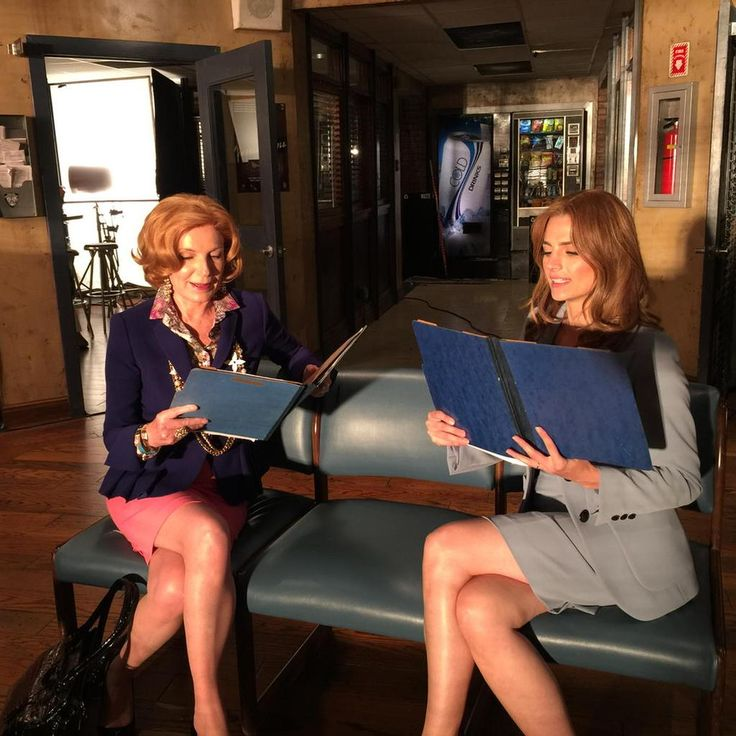 Rehearsing with the gorgeous and talented @Stana_Katic trying to give her some #unsolicitedadvice