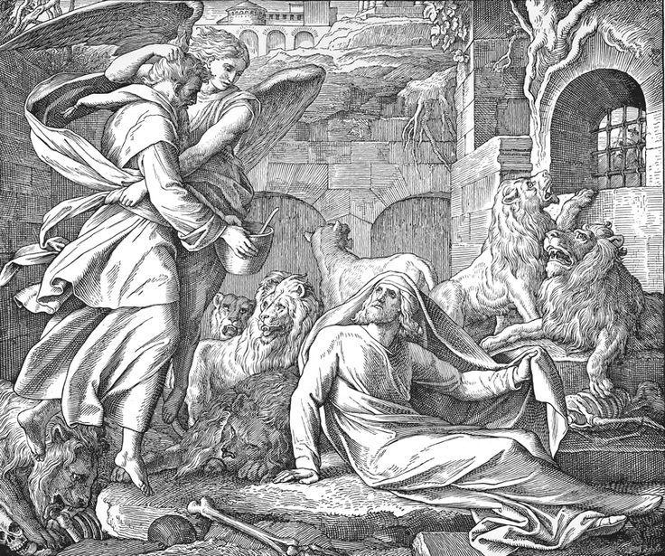 Bilder der Bibel – Daniel im Löwengraben – Bilblische Bilder und Zeichnungen …   – Bibelsprüche