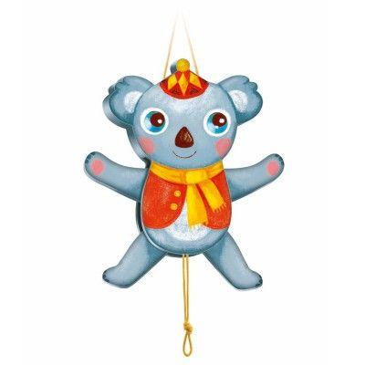 Pantin en bois : Koala Sacha - Djeco-06471 avenue des jeux