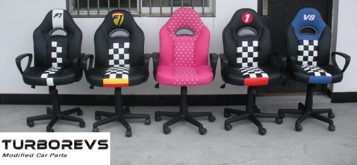 KIDS RACING BUCKET DESK COMPUTER GAMING OFFICE CHAIR
