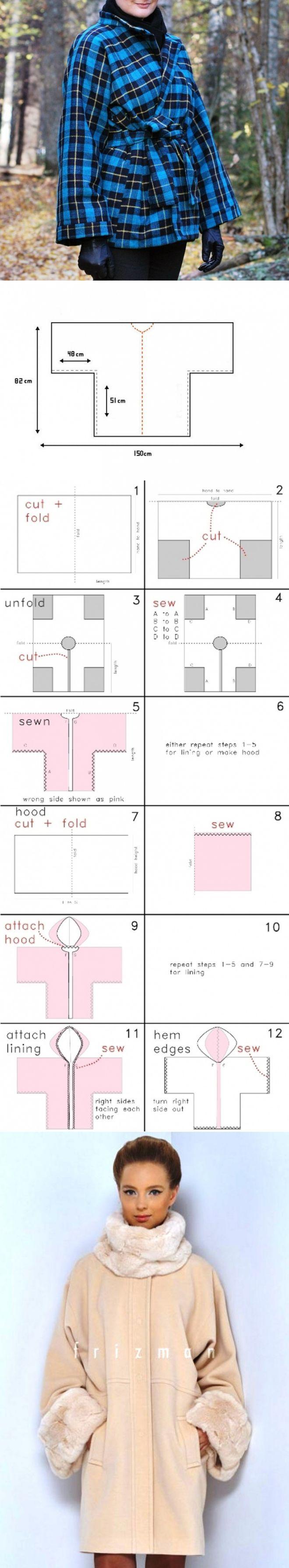 abrigo kimono (3 patrón, compilación) / Los patrones simples / SECOND STREET