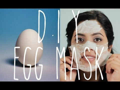 Quick DIY egg white mask for acne, blackhead removal, and pore shrinking